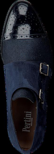 Blauwe PERTINI Veterschoenen 172W1004C26 - large