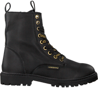 Zwarte VINGINO Veterboots EVA HIGH  - medium
