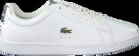 Witte LACOSTE Lage sneakers CARNABY EVO 220 - medium