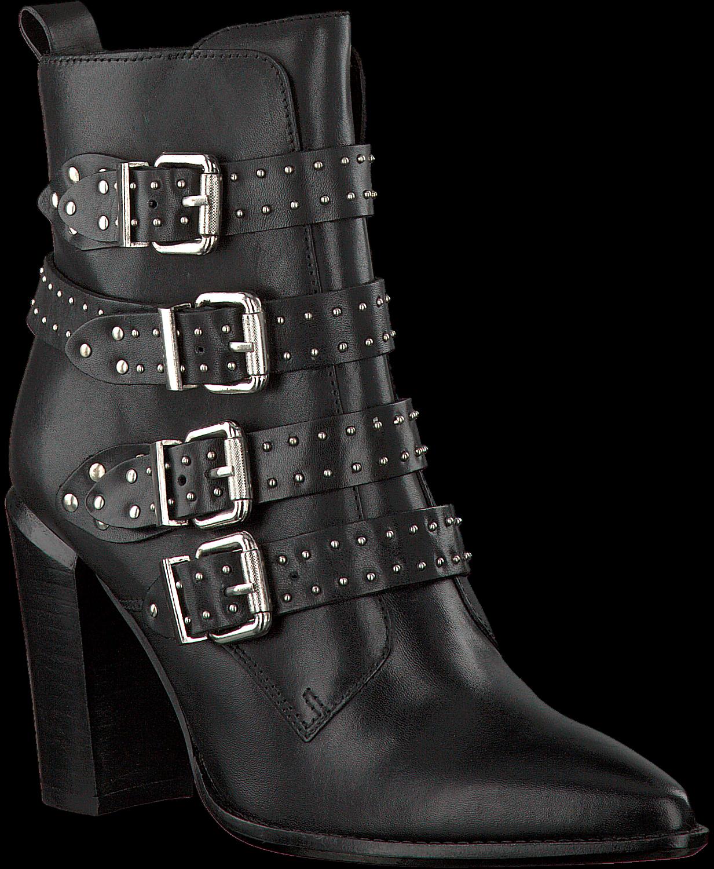 Zwarte BRONX Enkellaarsjes 33968 | Omoda
