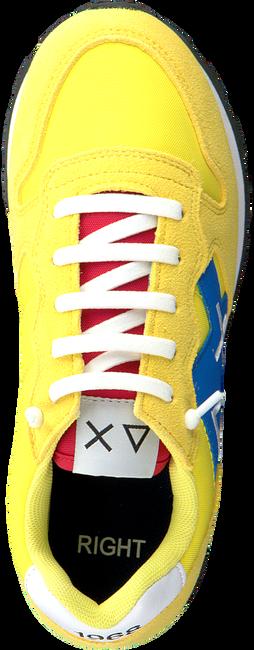 Gele SUN68 Lage sneakers TOM LOGO PATCH  - large