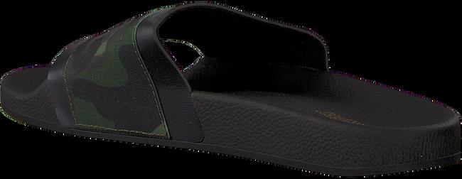 Zwarte THE WHITE BRAND Slippers ELASTIC MINIMAL  - large
