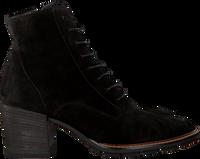 Zwarte PAUL GREEN Enkellaarsjes 9767 - medium