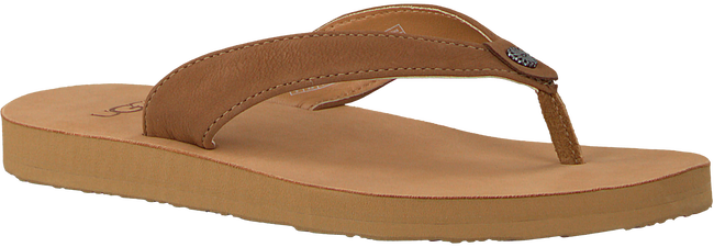 Cognac UGG Slippers TAWNEY  - large