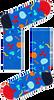 Blauwe HAPPY SOCKS Sokken BALLOON ANIMAL - small