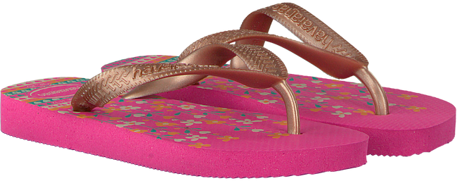 roze HAVAIANAS Slippers FLORES KIDS  - large