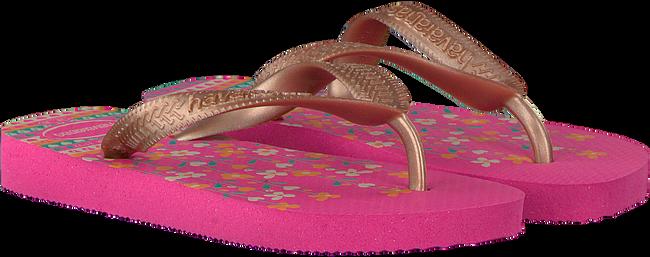 roze HAVAIANAS Slippers FLORES KIDS  - large