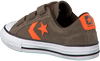 Bruine CONVERSE Sneakers STAR PLAYER 3V OX KIDS  - small