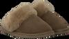 Groene WARMBAT Pantoffels FLURRY WOMEN SUEDE - small