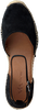 Zwarte VIA VAI Espadrilles FLORA BRAID - small