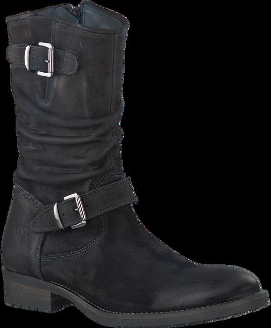 Zwarte GIGA Lange laarzen 8057  - large