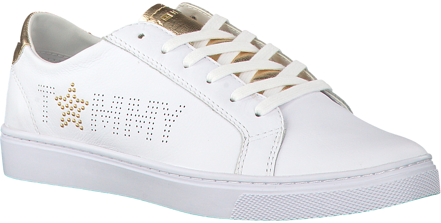 6666c9b77e940f Witte TOMMY HILFIGER Sneakers TOMMY STAR METALLIC SNEAKER - large. Next