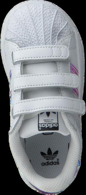 Witte ADIDAS Sneakers SUPERSTAR KIDS  - large