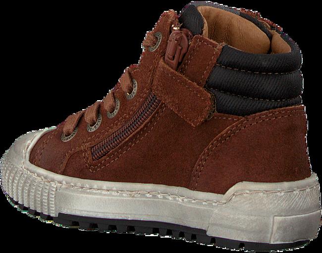 Cognac DEVELAB Hoge sneaker 41609  - large