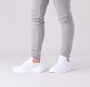 Witte CALVIN KLEIN Lage sneakers CHUNKY SOLE LACEUP OXFORD  - small