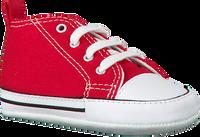 Rode CONVERSE Babyschoenen FIRST STAR  - medium