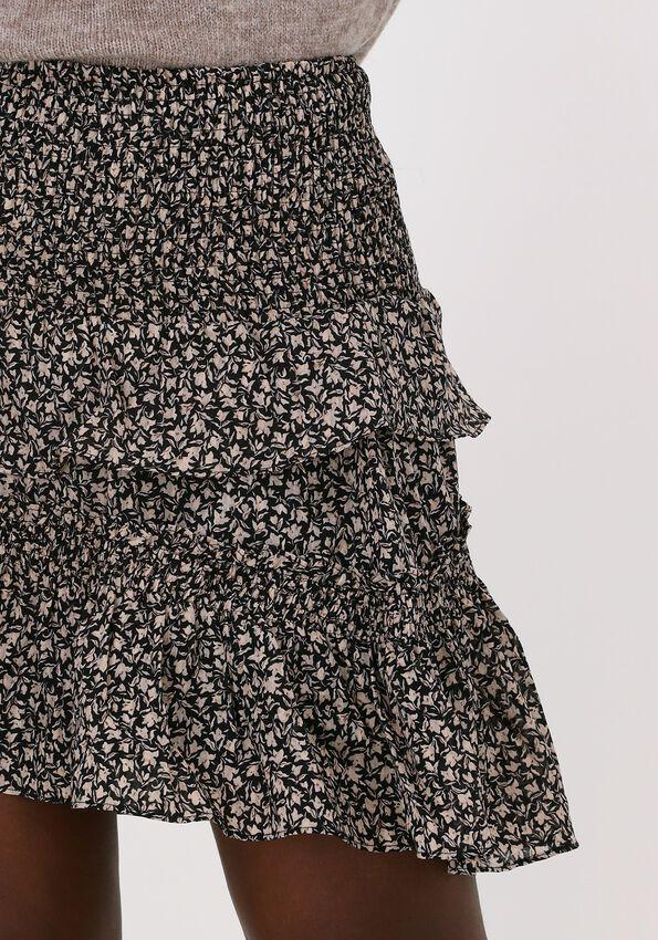 Zwarte CO'COUTURE Minirok BREEZE FLOWER SMOCK SKIRT  - larger