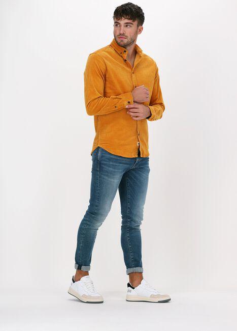 Gele ANERKJENDT Casual overhemd AKKONRAD CORD SHIRT - large