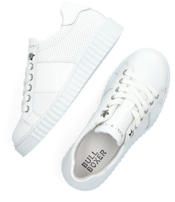 Witte BULLBOXER Lage sneakers AIB006E5L  - large