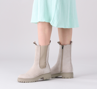 Grijze NOTRE-V Chelsea boots 753090  - medium