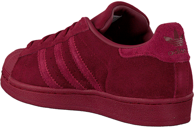 Rode ADIDAS Sneakers SUPERSTAR J  - large