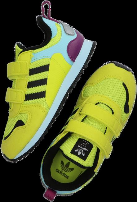 Gele ADIDAS Lage sneakers ZX 700 HD CF I  - large