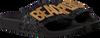 Zwarte THE WHITE BRAND Slippers GLITTER PATCH  - small