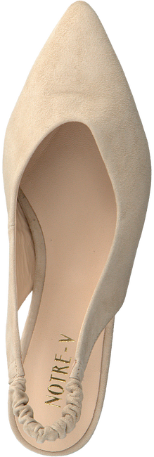 Beige NOTRE-V Pumps 45252  - large