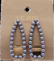 Zilveren LE BIG Haarband TOLEEN HAIRCLIPS  - medium