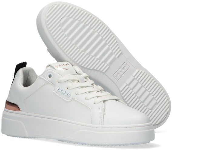 Witte BJORN BORG Lage sneakers T1910 PAT W  - large