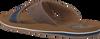 Bruine AUSTRALIAN Slippers CATWYCK AT SEA  - small