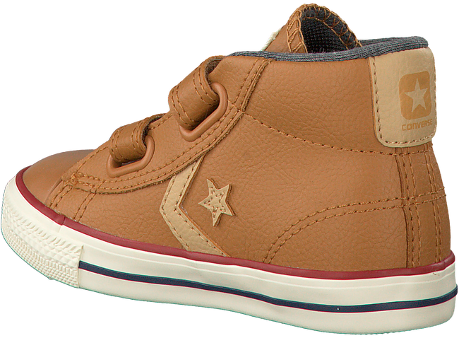 Cognac CONVERSE Sneakers STAR PLAYER MID 2V  - large