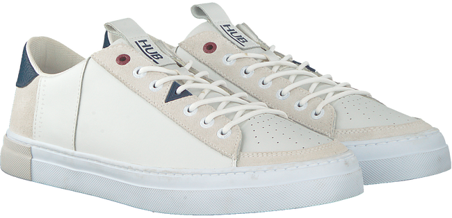 Witte HUB Sneakers TOURNAMENT-M  - large