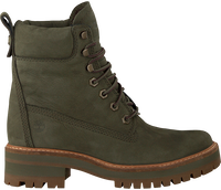 Groene TIMBERLAND Veterboots COURMAYEUR VALLEY YB - medium