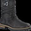 Zwarte GIGA Lange laarzen 7874  - small