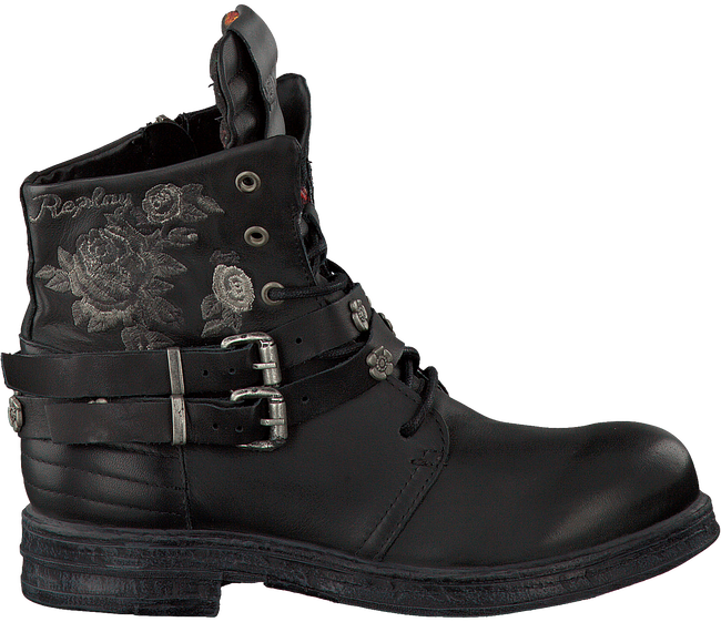 Zwarte REPLAY Biker boots COVET  - large