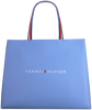 Blauwe TOMMY HILFIGER Shopper TOMMY SHOPPING BAG  - small
