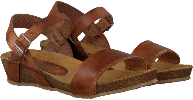 Cognac RED-RAG Sandalen 79198  - large