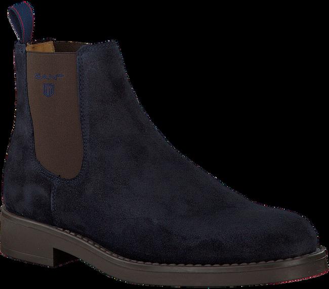 Blauwe GANT Chelsea boots OSCAR  - large