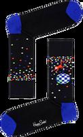 Zwarte HAPPY SOCKS Sokken DISCO MONKEY  - medium