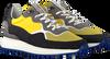 Gele FLORIS VAN BOMMEL Lage sneakers 16301  - small