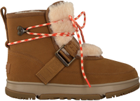 Bruine UGG Vachtlaarzen W CLASSIC WEATHER HIKER  - medium