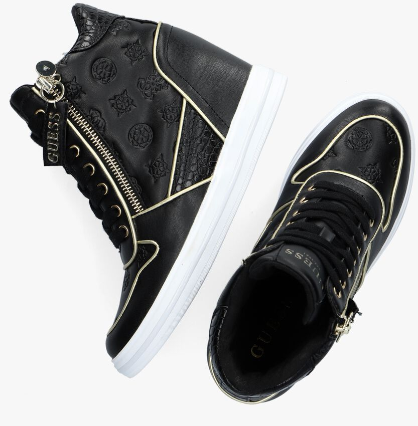 Zwarte GUESS Hoge sneaker NANGY  - larger