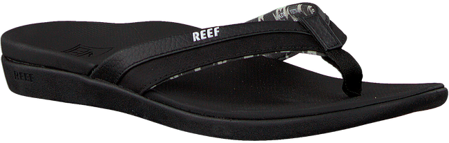 Zwarte REEF Slippers ORTHO BOUNCE COAST  - large