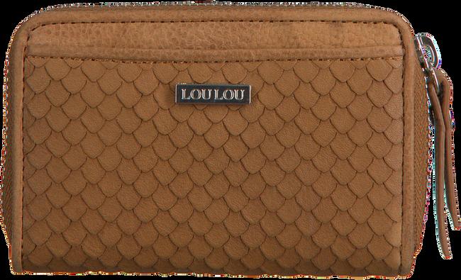 Cognac LOULOU ESSENTIELS Portemonnee SLB14XS SCALES - large