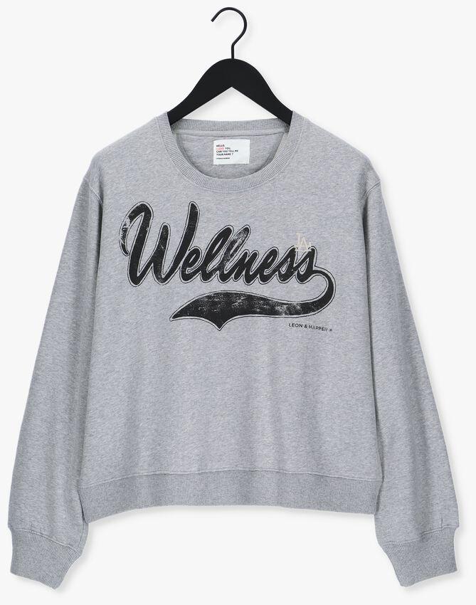 Lichtgrijze LEON & HARRPER Sweater SORTIE JC55 WELL  - larger