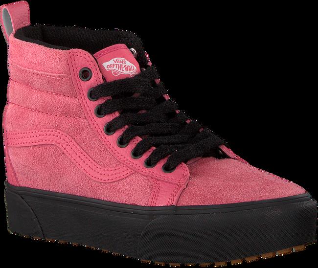 Roze VANS Sneakers SK8 HI PLATFORM MTE - large