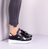 Zwarte TOMMY HILFIGER Lage sneakers HIGH CLEATED TOMMY JEANS  - small