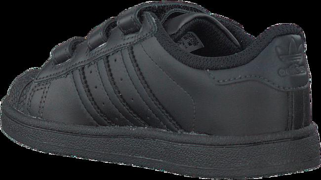 Zwarte ADIDAS Sneakers SUPERSTAR CF  - large