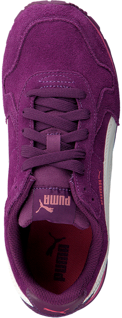 Paarse PUMA Sneakers ST RUNNER SD JR  - large